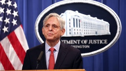 WASHINGTON, DC - AUGUST 05: U.S. Attorney General Merrick Garland announces a federal investigation of the City of Phoenix and the Phoenix Police Department during a news conference at the Department of Justice on August 05, 2021 in Washington, DC. Garland said the Justice Department has opened a pattern or practice investigation into the City of Phoenix and the Phoenix Police Department to determine if they have violated federal laws or citizens constitutional rights. (Photo by Kevin Dietsch/Getty Images)